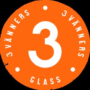 3vänners Glass